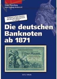 Katalog Banknotów Niemieckich - pieniądz papierowy Niemcy