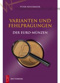 Błędne wybicia i warianty monet Euro - Katalog z cenami !