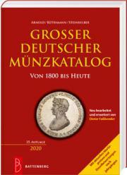 Najnowszy katalog niemieckich monet AKS - Grosser Deutscher Munzkatalog wydanie 2020