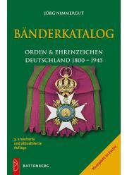 Wstążki orderów i odznaczeń niemieckich 1800-1945