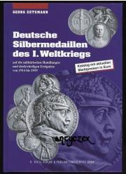 Srebrne medale niemieckie z I wojny światowej