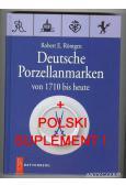 Znaki na porcelanie niemieckiej od 1710 do dzisiaj